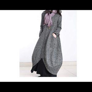 🌟NWT YESNO Long Maxi Tweed Jacket🌟